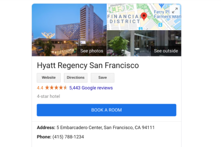 Google My Business Profil Hotel